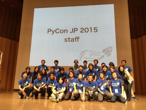 PyCon JP 2015 staff
